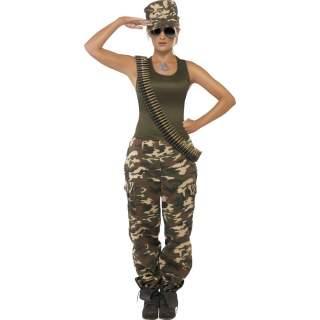 Déguisement US Army femme