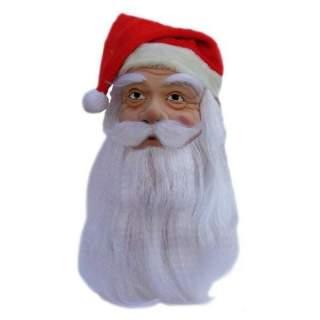 Masque Père Noël avec bonnet