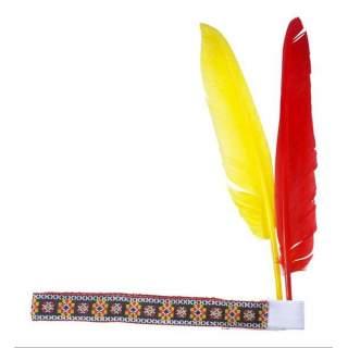 Bandeau indien avec 2 plumes