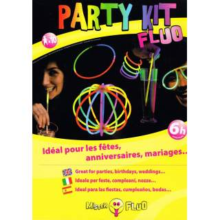 Party kit fluo