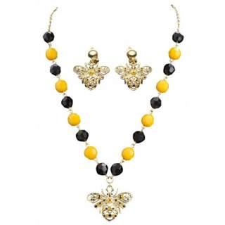 Set bijoux abeille
