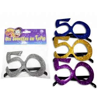 Lunettes anniversaire 50 ans