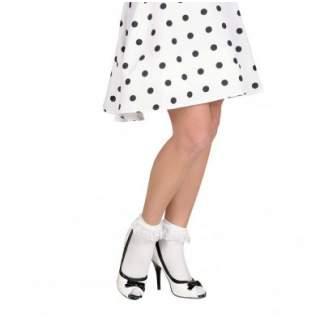 Chaussettes blanches avec dentelles