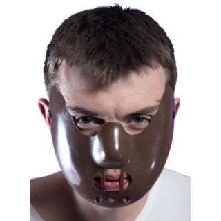 Demi masque style Hannibal Lecter