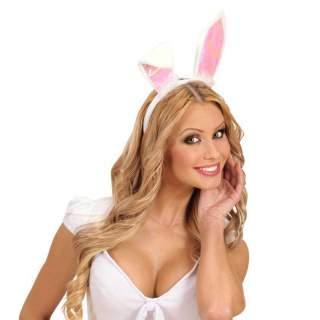 Serre tête oreilles blanches de lapins