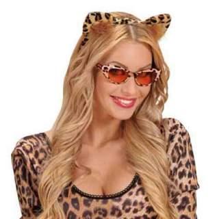 Serre tête oreilles de léopard