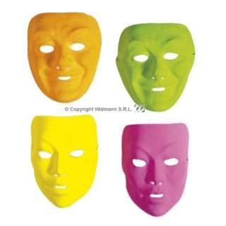 Masque couleur fluo