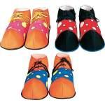 Chaussures de clown à pois