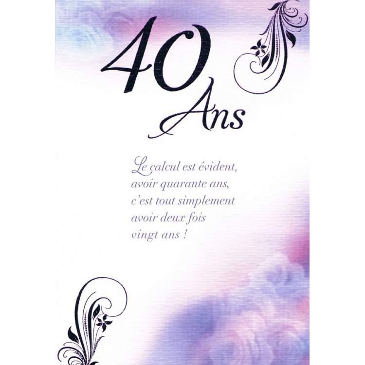 Joyeux Anniversaire 40 Ans Homme