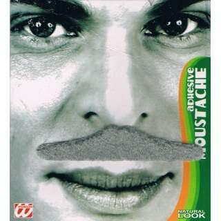 Moustache grise adhésive