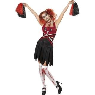 Déguisement pompom girl zombie