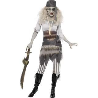 Déguisement fantôme piratine naufragée