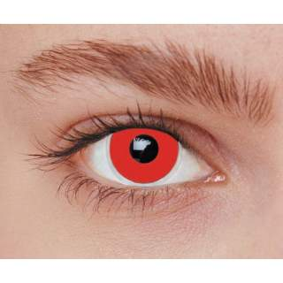 Lentilles iris rouge