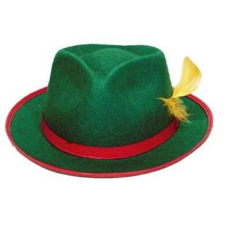 Chapeau Tyrolien feutre vert