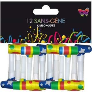 12 sans-gênes assortis