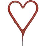 Cierge magique coeur rouge