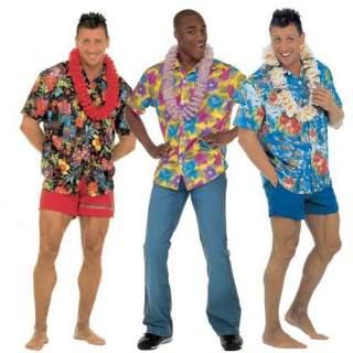 Chemise à fleur Hawaï
