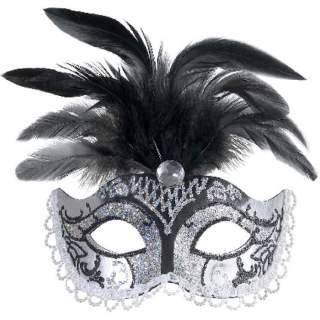 Masque Venise avec plumes