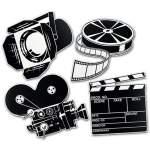 Décorations thème cinéma