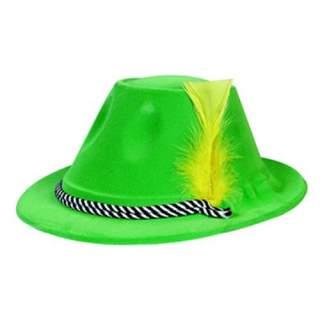 Chapeau tyrolien avec plume