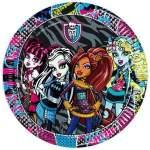 8 assiettes carton Monster High